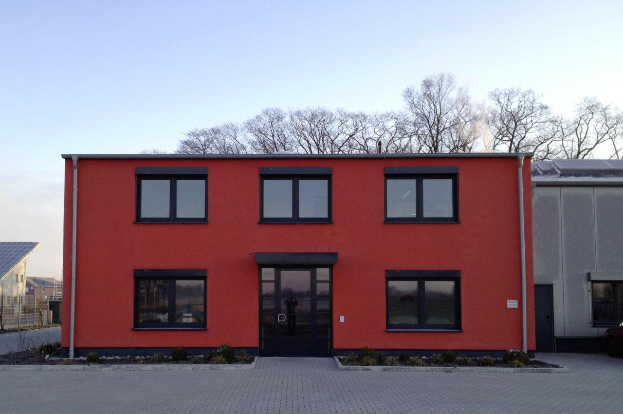Haupteingang Unternehmenssitz von Weglage in Neuenkirchen